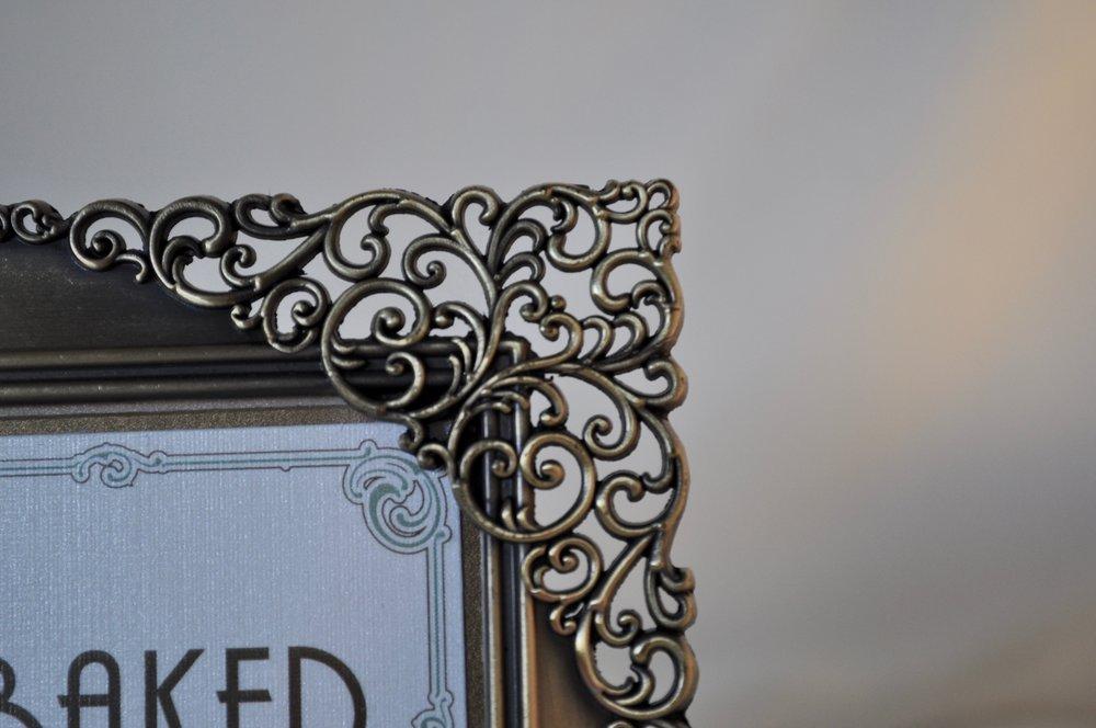 """Silver Swirl Frame 4x6"""" - Qty: 2"""