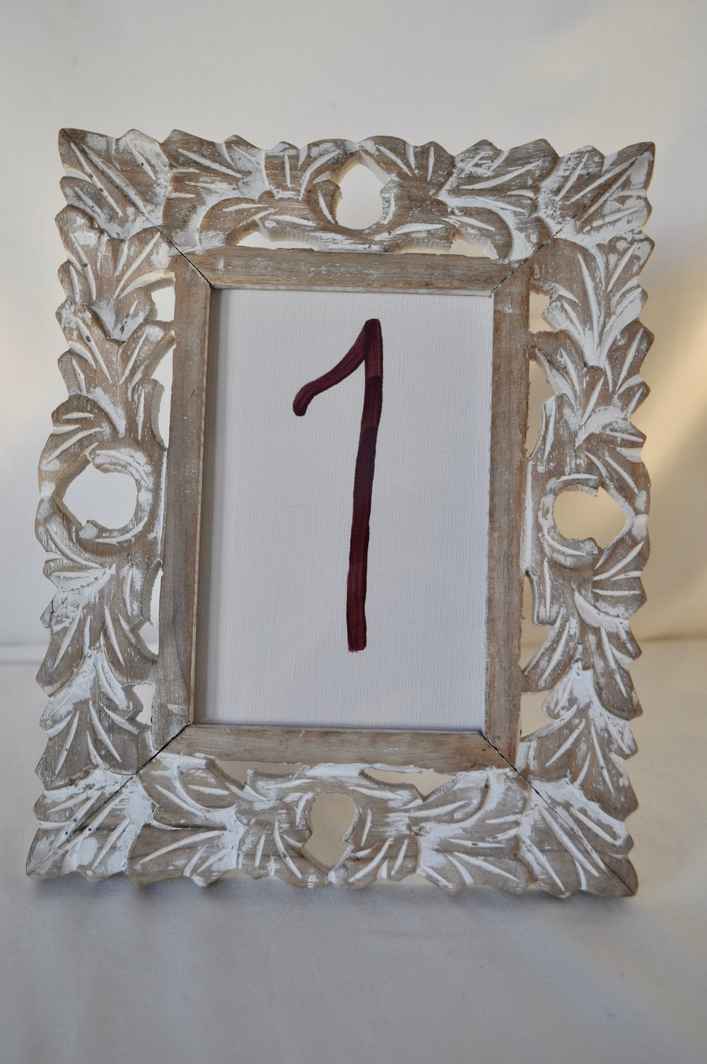 "Distressed Wood Frame 4x6"" - Qty: 2"