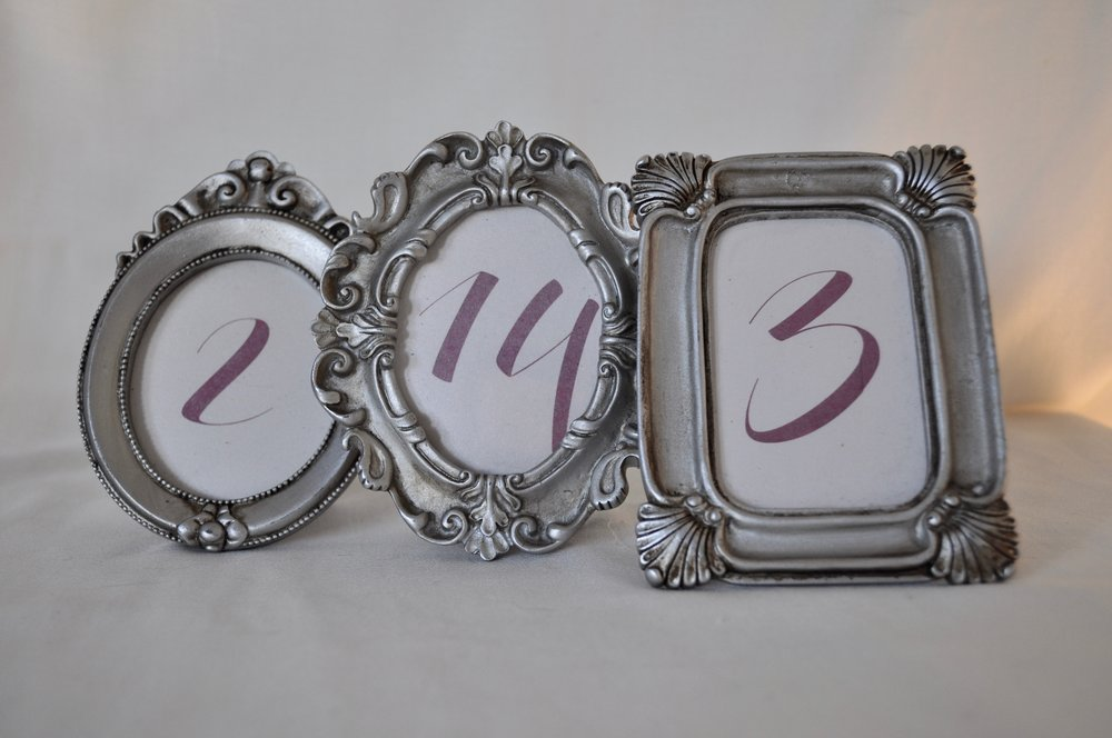 Small Vintage Frames - Qty: 11