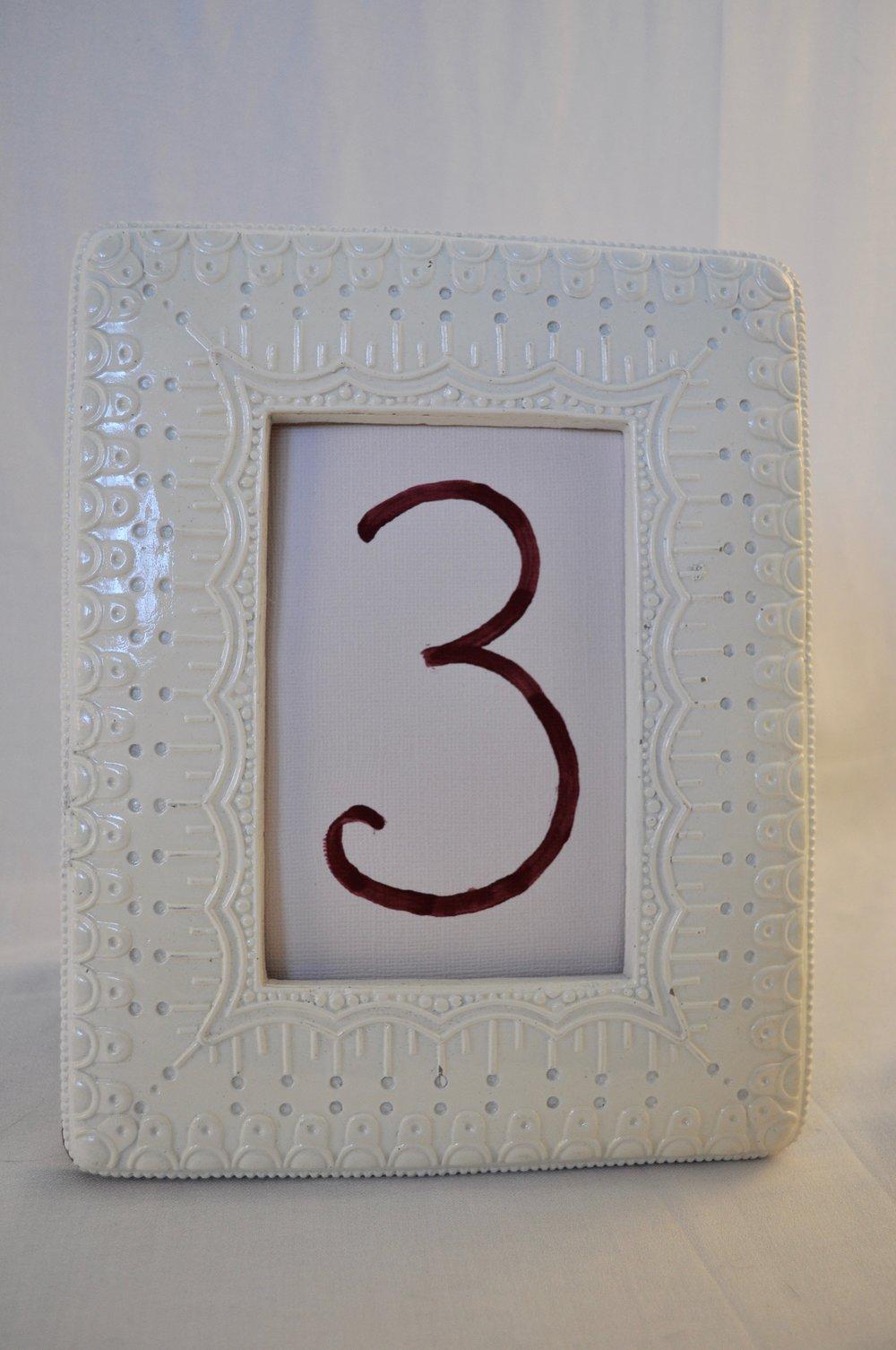 "Ivory Frame 4x6"" - Qty: 1"