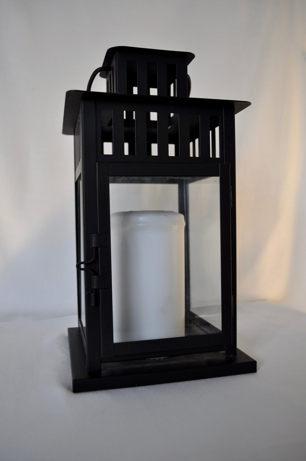 Black Lanterns - Qty: 4 Small & 1 Large