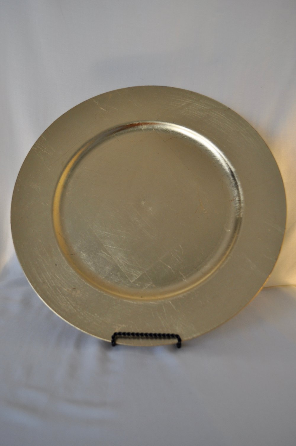Gold Charger Plates - Qty: 40