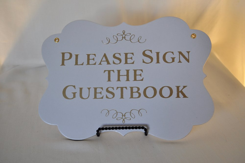 Guestbook Sign - Qty: 1