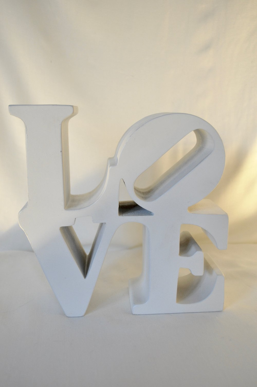 "LOVE Sculpture 8""x8"" - Qty: 1"