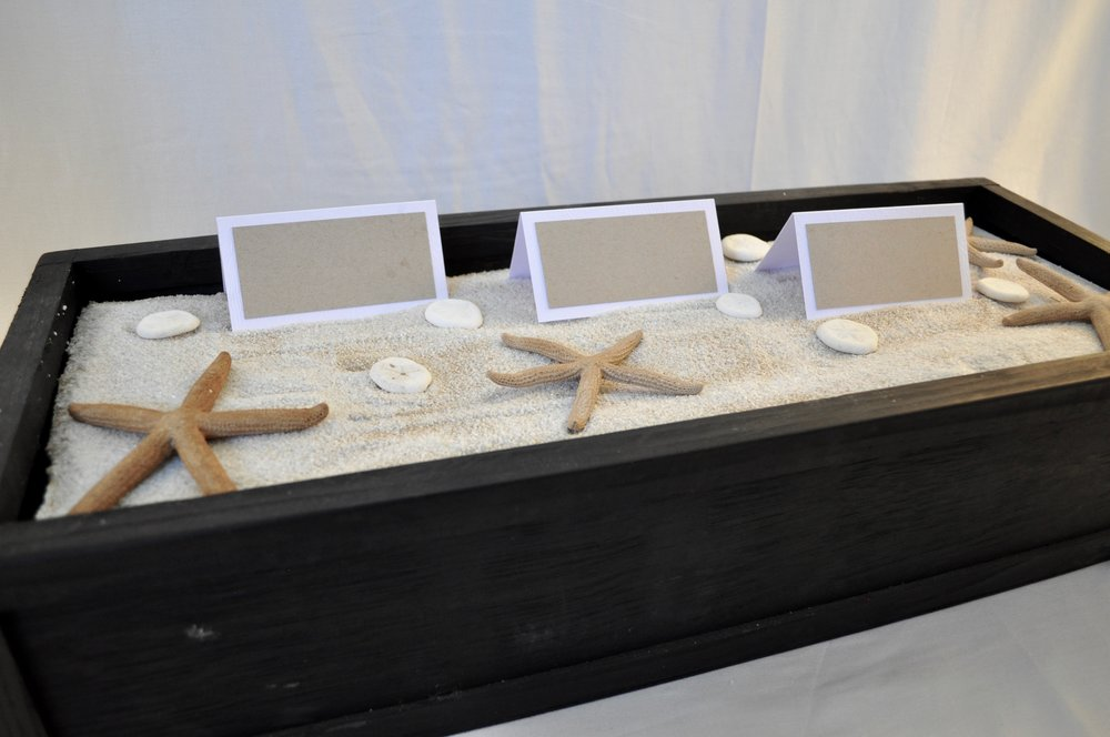 Escort Card Sand Box - Qty: 1