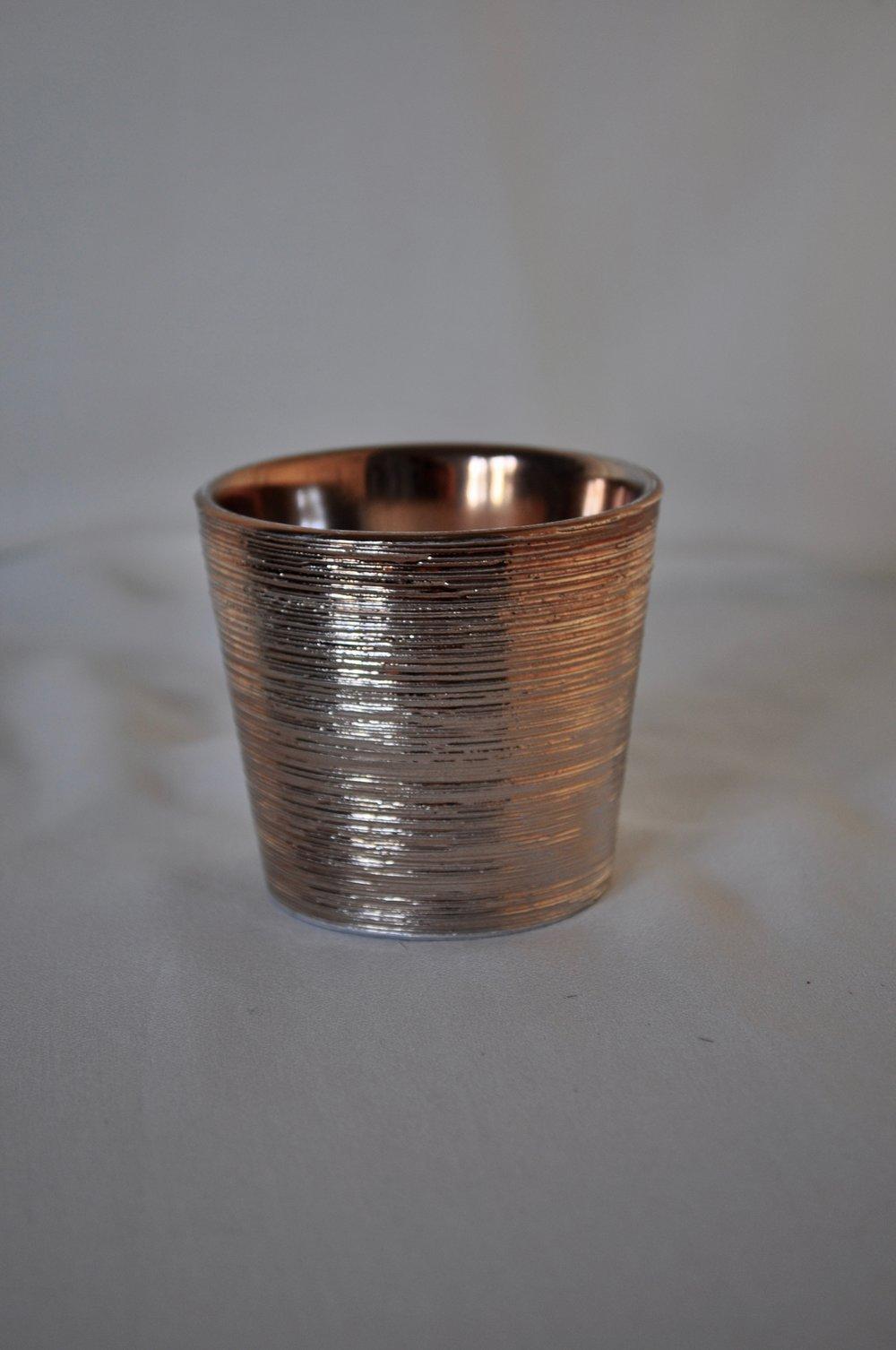 Copper Votive Holder - Qty: 20