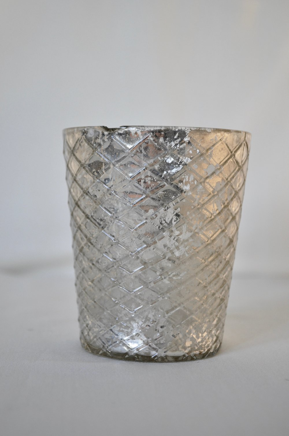 Silver Votive Holders - Qty: 6