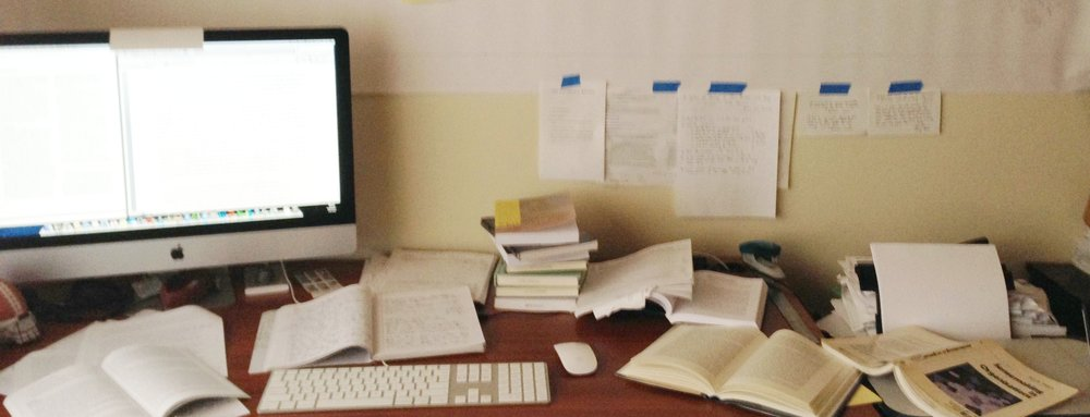 Writing is messy, chaotic, and caught up within multiple dimensions of human activity.