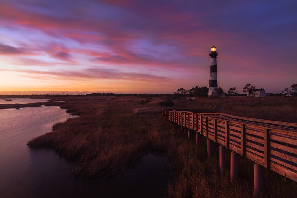 Bodie Island Lighthouse Sunrise