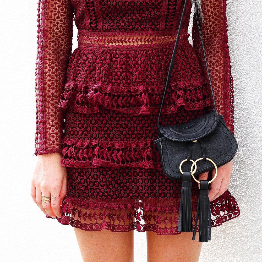 Self Portrait Red Dress