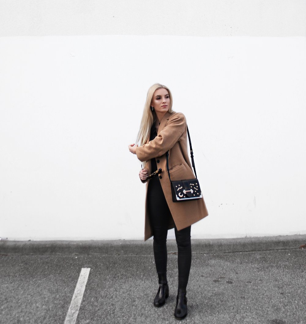 Camel Coat for Winter | Izzy Wears Blog