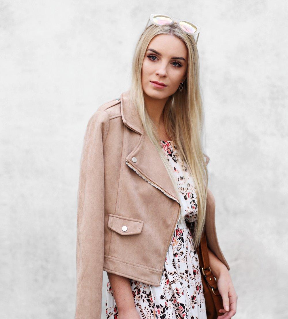How to wear a camel jacket in Winter  | Izzy Wears Blog