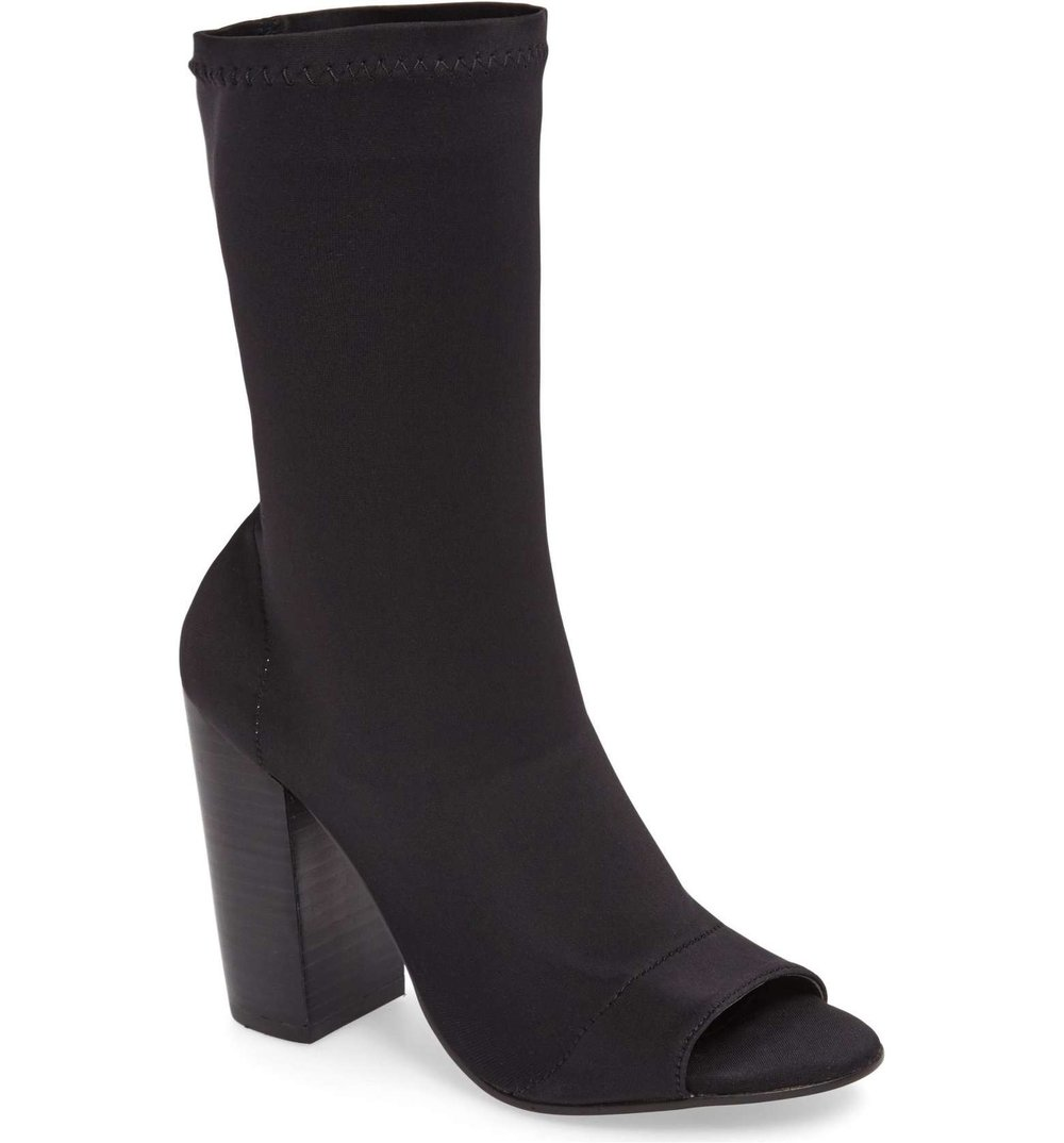 Malo Open Toe Stretch Sock Boot Tony Bianco | Izzy Wears Blog