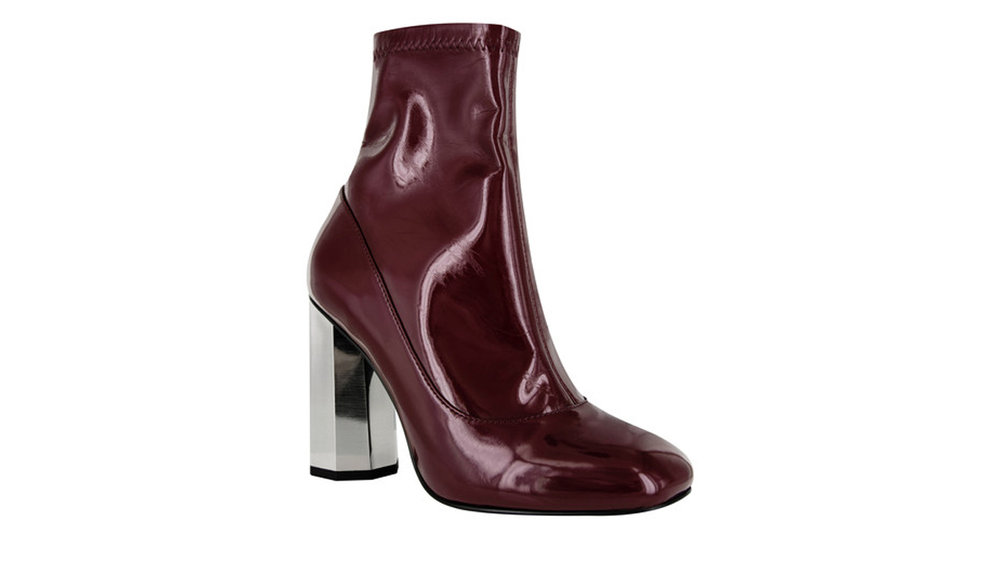 SENSO, UMAR I WINE STRETCH PATENT BOOTS  | Izzy Wears Blog