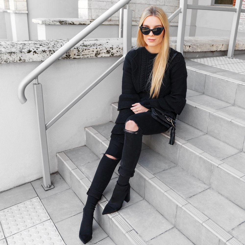 Diddy Tony Bianco Boots | Izzy Wears Blog