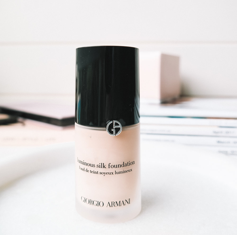 Giorgio Armani Foundation Mini Review | Izzy Wears Blog