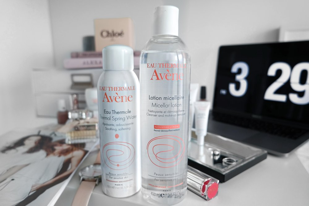 Avene Micellar Water Review | Izzy Wears Blog