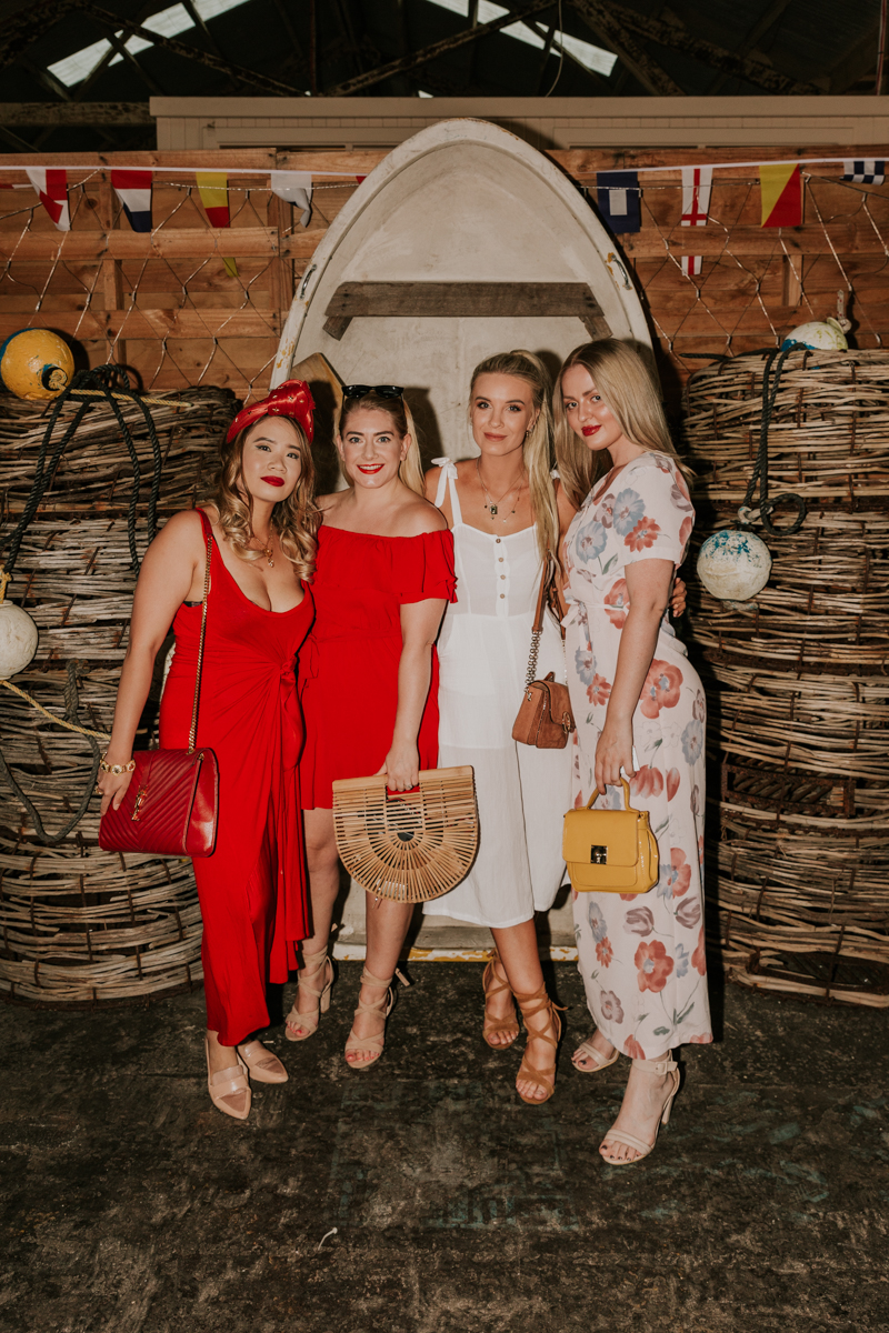 The Glam Whisperer ,  Demelza Buckley  myself and  Chiara Margio  at the Dock Launch. Photographed by  Billie and Peaches .
