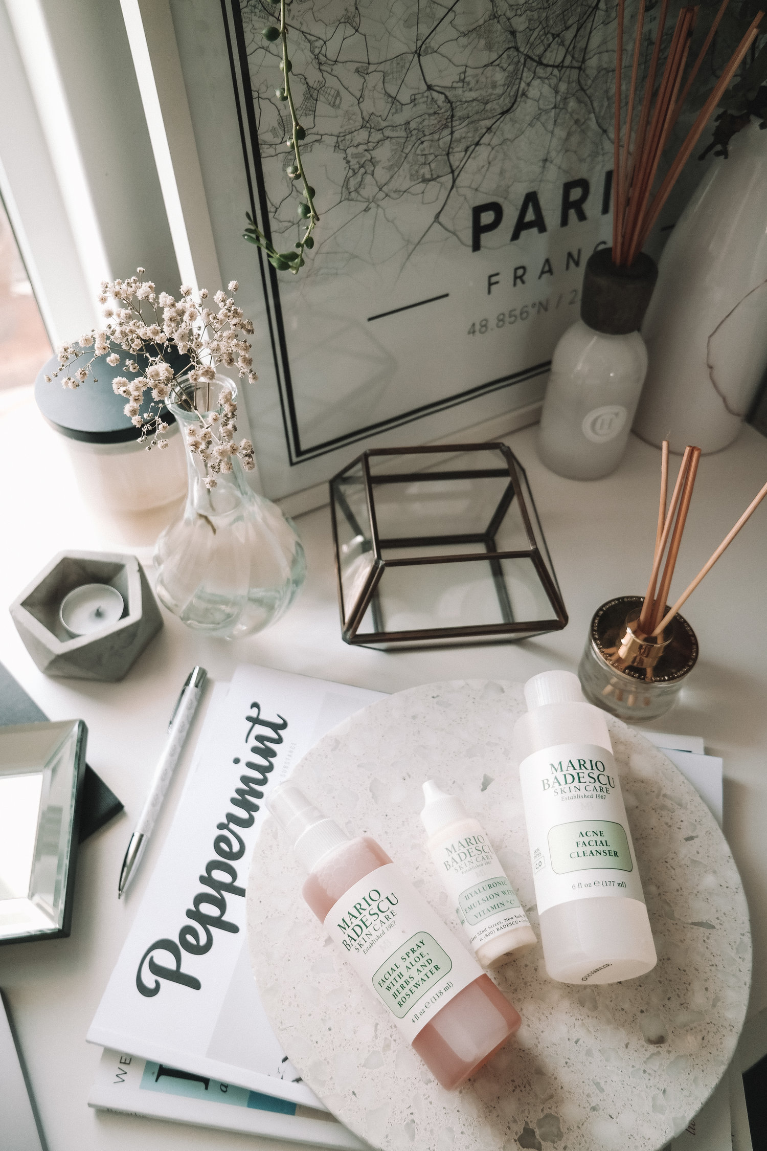 Mario Badescu Review Rosewater Facial Spray And Acne Wash