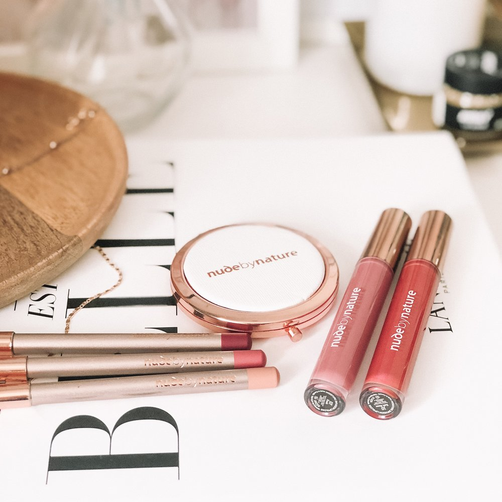 Nude by Nature Lip Collection Review
