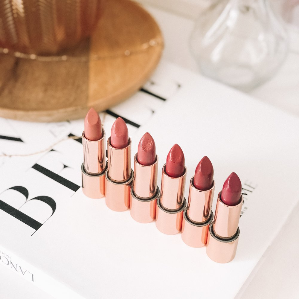 Nude by Nature 100% Natural Lip Collection Range Review