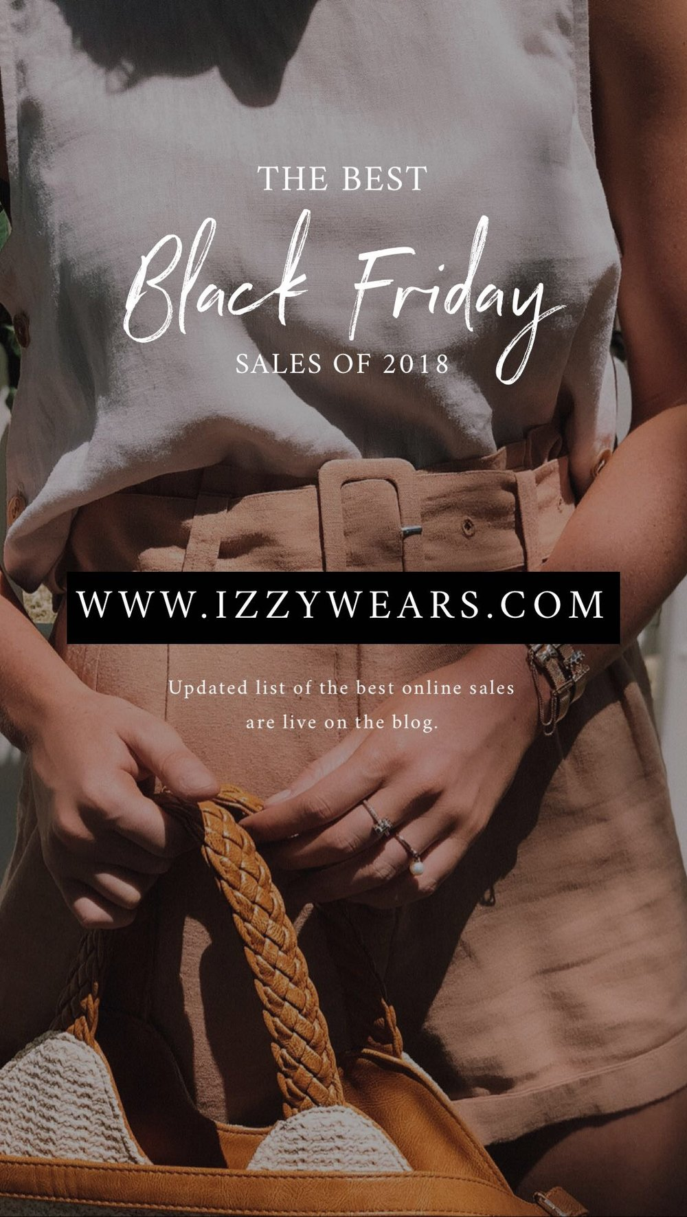 The Best Black Friday Sales 2018 - Izzy Wears Blog