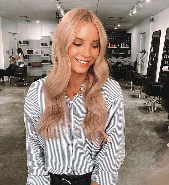 Peachy Pink Hair Toner