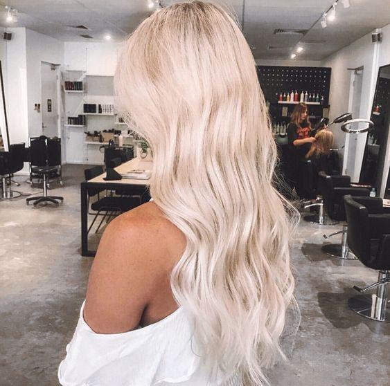 Beachy Blonde Bohemian Waves