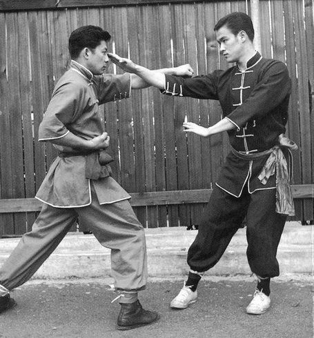 The Basic finger jab, currently taking center line from the opponent's punch