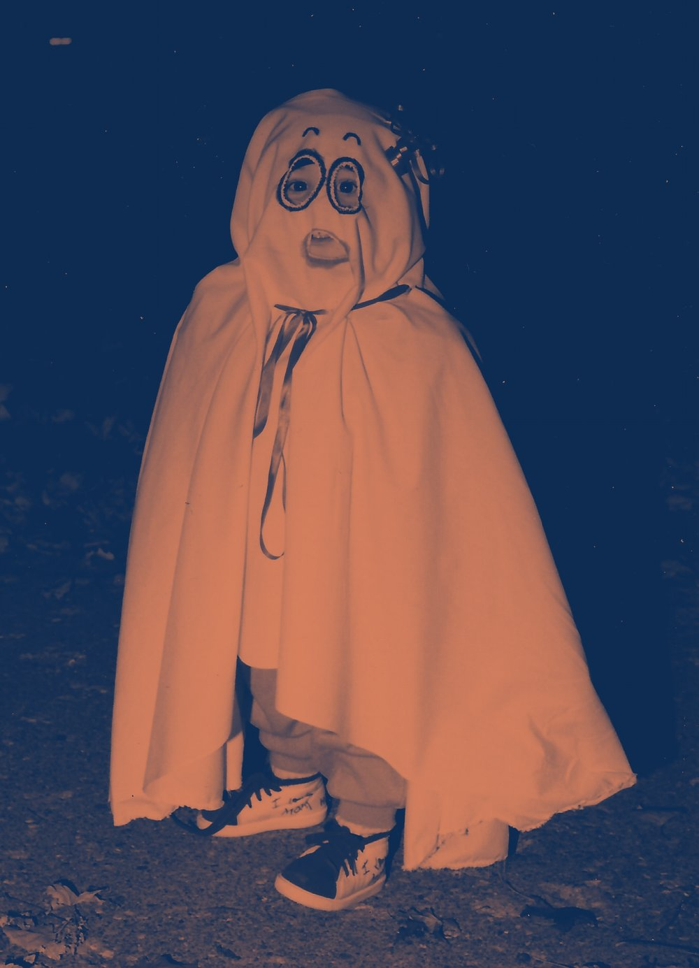 Circa 1990 _ Do ghosts have eyebrows?