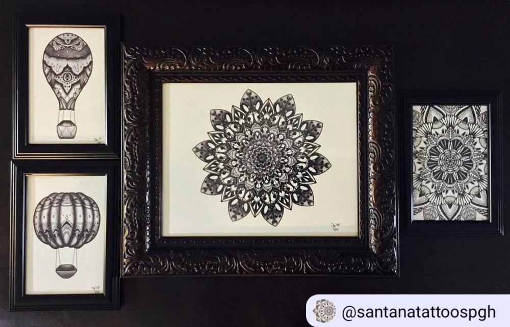 Santana's Framed Prints