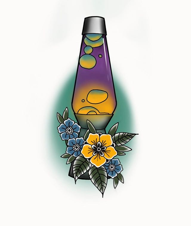 I have an opening this MONDAY! I would love to tattoo this cute lava lamp! If you would like to get in the chair on Monday please DM me or email me at santanatattoospgh@gmail.com