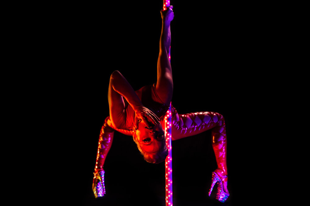 PoleFX LED Dance Pole 5