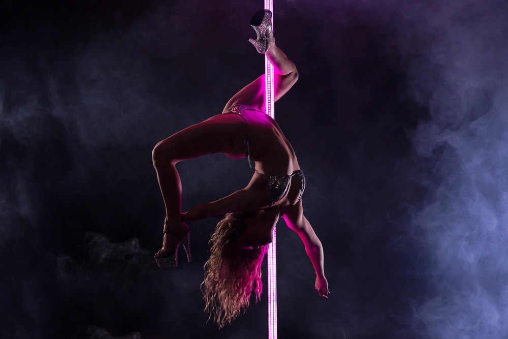 PoleFX LED Dance Pole 6