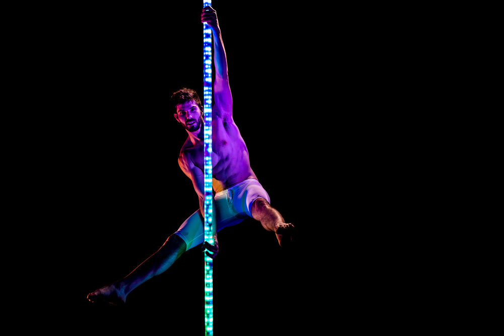 PoleFX LED Dance Pole 8
