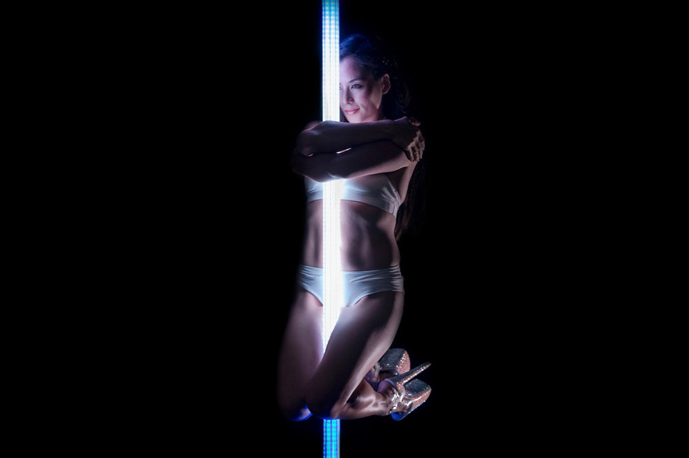 PoleFX LED Dance Pole 9