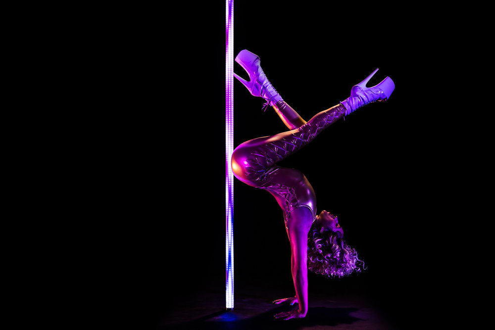 PoleFX LED Dance Pole 10