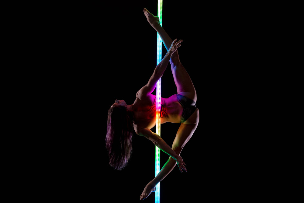 PoleFX LED Dance Pole 13