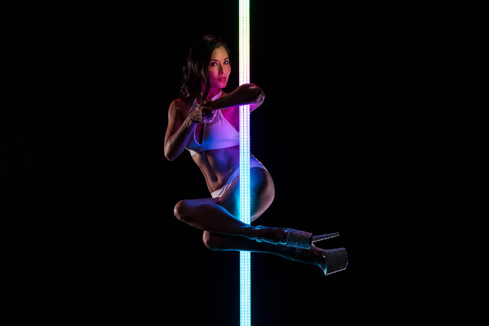 PoleFX LED Dance Pole 16
