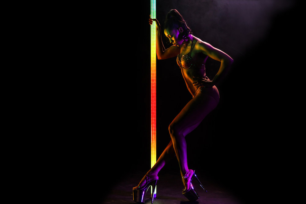 PoleFX LED Dance Pole 20