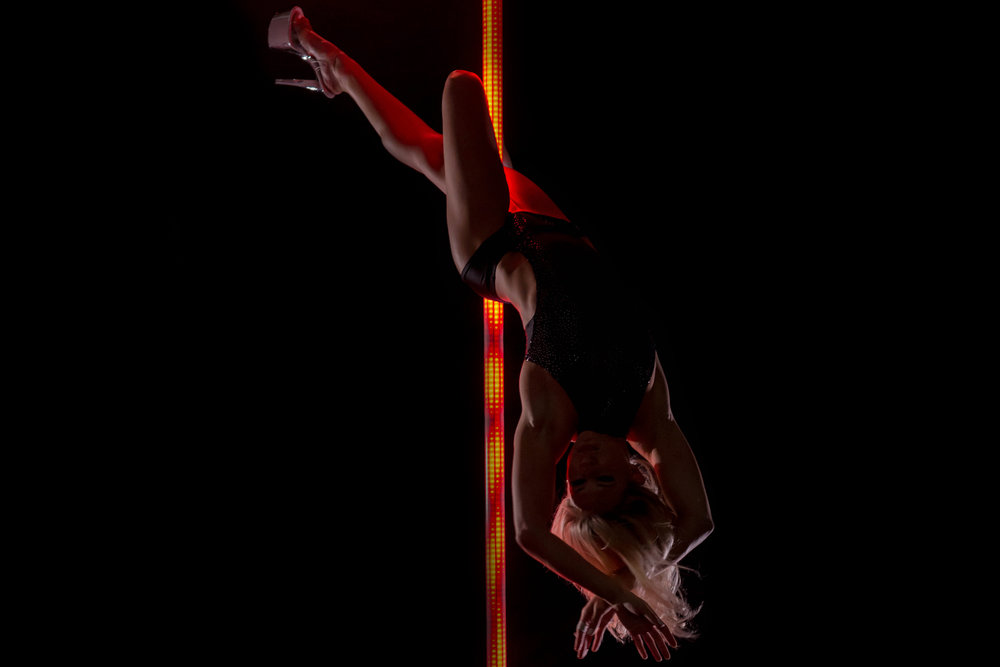 PoleFX LED Dance Pole 21
