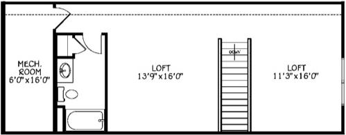 Loft & Full Bath (Adds 562 Sq/Ft)