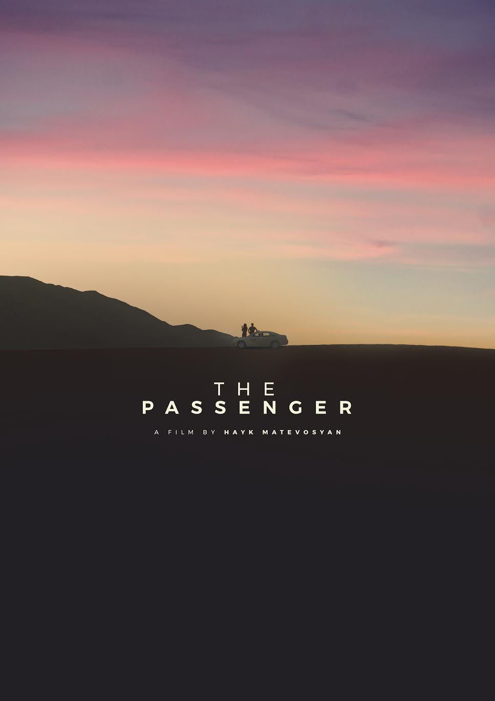 "Poster for ""The Passenger."" Courtesy of Hayk Matevosyan."