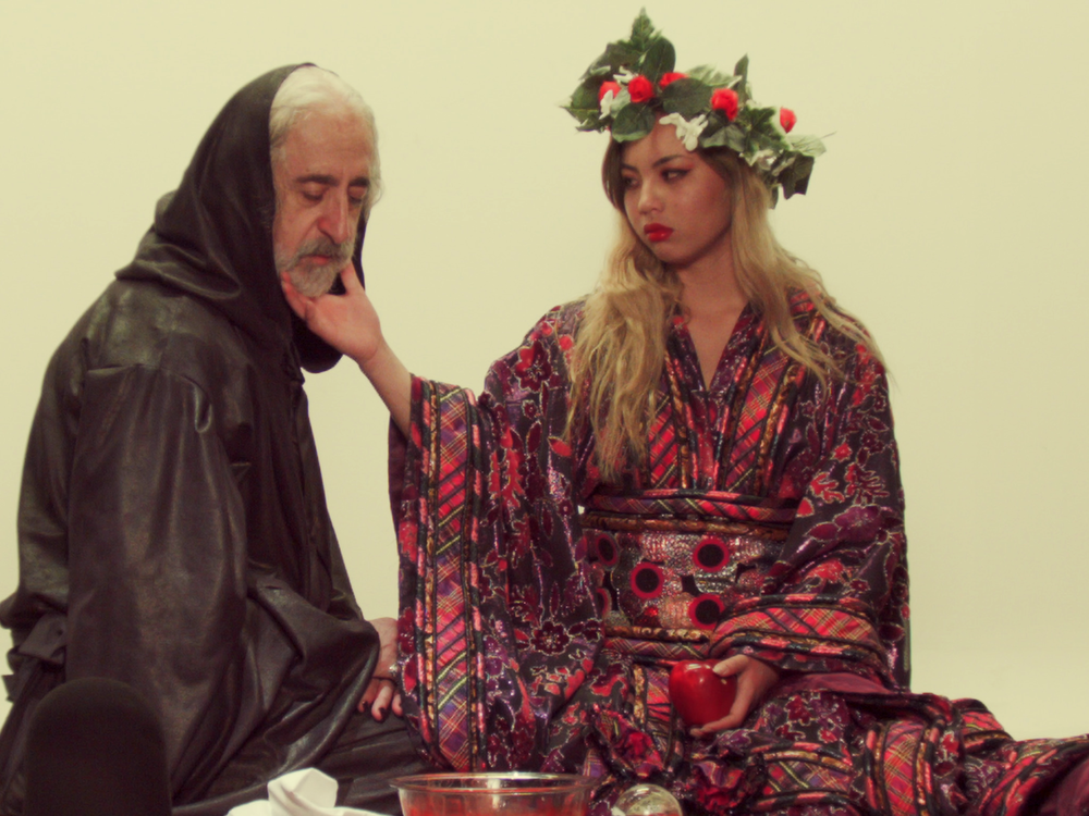 "A still from Bei Ru's ""Tortoisehead"" video. Courtesy of Hayk Matevosyan."
