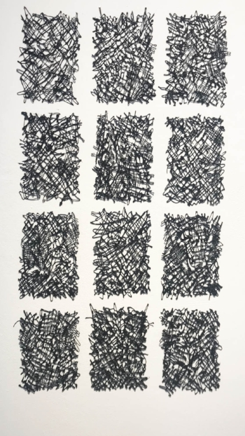 Haikus  (2015), acrylic