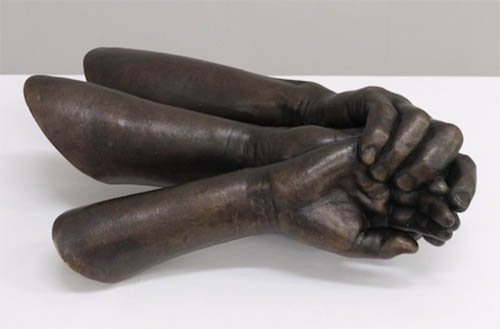 Belonging , 2017, bronze