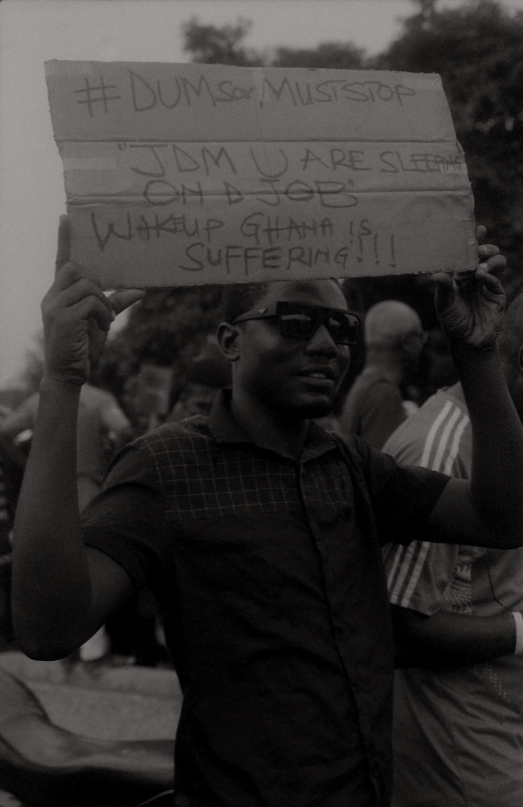 """Wake up. Ghana is suffering!!!"""