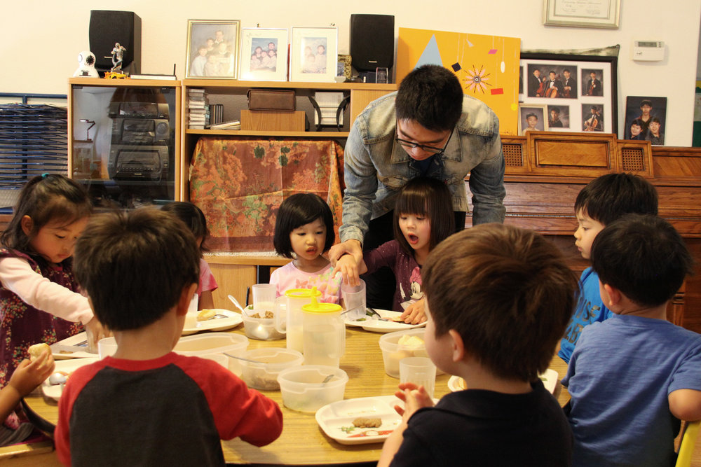 """Preschoolers Learn Mandarin at Dee's Wonderland   """"They think, 'Actually, I'm not alone,' """" Chang says. """" 'I don't need to try very hard to be like others. I can still keep myself, be myself.' That's another part of it, with those families and the kids."""""""