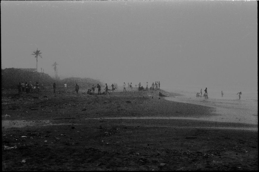 Accra Beach, December 2014.
