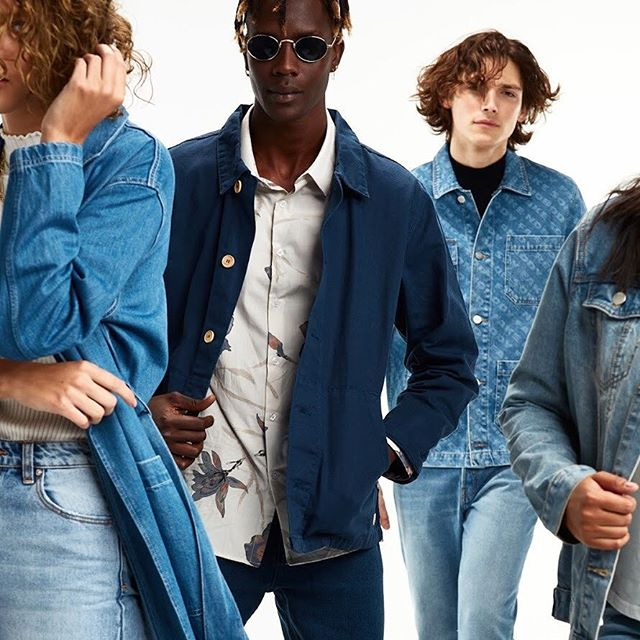 Denim campaign 👖👖👖 #doubledenim #canadiantuxedo #campaign #denim #fashion #editorial #editorialphotography #fashioneditorial #fashionphotography #fashionphotographer #clairewallman #models #womensfashion #mensfashion